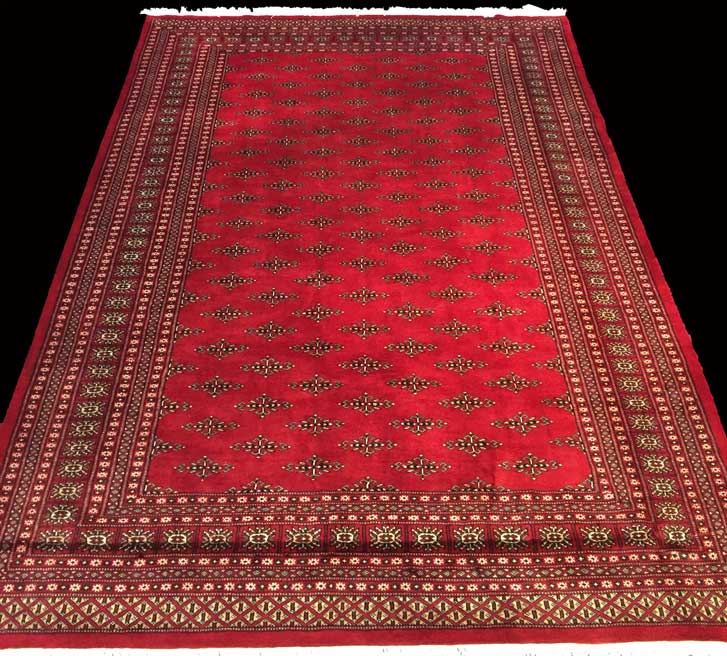 Pakistan Bokhara Rugs In Red: PAKISTAN BOKHARA